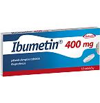 Ibumetin 400mg plėvele dengtos tabletės N10