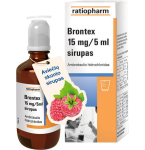 Brontex 15mg/5ml sirupas 100ml