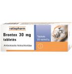 Brontex 30mg tabletės N20