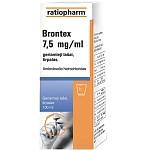 Brontex 7.5mg/ml geriamieji lašai, tirpalas 100ml N1