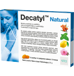 DECATYL Natural lozenges N12