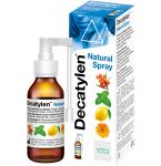 Decatylen Natural Spray burnos ir gerklės purškalas 20ml