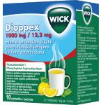 Dioppex 1000mg / 12.2mg milteliai geriamajam tirpalui N10