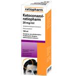 Ketoconazol-ratiopharm 20mg/ml šampūnas 120ml