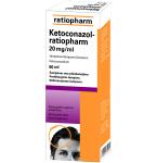 Ketoconazol-ratiopharm 20mg/ml šampūnas 60ml