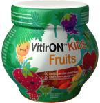 Maisto papildas VitirON Kids Fruits kramtomieji guminukai N50