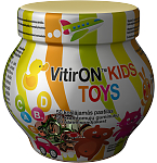 Maisto papildas VitirON Kids Toys kramtomieji guminukai N50
