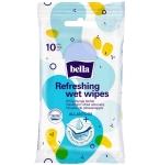BELLA drėgnos servetėlės universalios antibakterinės N10