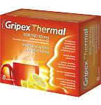 Gripex Thermal 650/50/10 mg milteliai geriamajam tirpalui N8