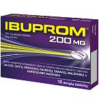 Ibuprom 200mg dengtos tabletės N10
