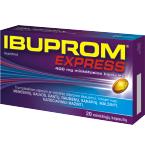 Ibuprom Express 400mg  minkštosios kapsulės N20