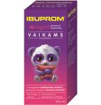 Ibuprom 40mg/ml geriamoji suspensija vaikams 100ml ir geriamasis švirkštas (5 ml) N1