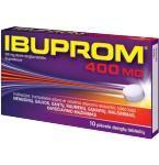 Ibuprom 400mg plėvele dengtos tabletės N10