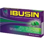 IBUSIN 200mg/6.1mg dengtos tabletės N12