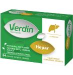 Verdin hepar plėvele dengtos tabletės N24