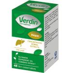 Maisto papildas Verdin hepar plėvele dengtos tabletės N48