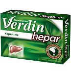 Maisto papildas Verdin hepar plėvele dengtos tabletės N24