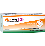 Alyr 10mg plėvele dengtos tabletės N7