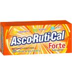Maisto papildas Asco - Ruti - Cal Forte plėvele dengtos tabletės N20