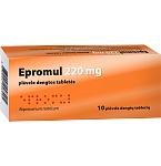 Epromul 220mg plėvele dengtos tabletės N10