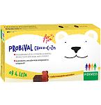 Maisto Papildas PROBIVAL Choco + C + Zn šokolado skonio kramtomosios tabletės N20