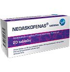 Neoaskofenas tabletės N20