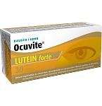 Maisto papildas Ocuvite Lutein Forte plėvele dengtos tabletės N30