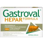 Maisto papildas Gastroval Hepar Formula kapsulės N30