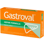Gastroval Hepar Formula kapsulės N30