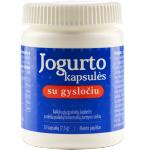 Maisto papildas Jogurto kapsulės su gysločiu N30