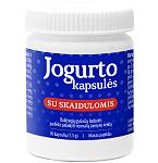 Maisto papildas Jogurto kapsulės su skaidulomis N30