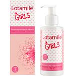 LOTAMILE Girls švelnus intymios higienos prausiklis mergaitėms nuo 1 metų 150ml