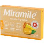 Miramile citrinų ir medaus skonio kietos pastilės N12