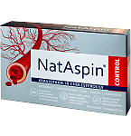 Maisto papildas NatAspin Control kapsulės N30