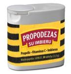 Maisto papildas Propodezas su imbieru tabletės N50