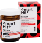 Maisto papildas SmartHit IV Ferrum kapsulės N30