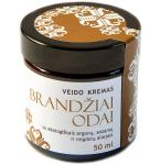 Valerijonas kremas veido BRANDŽIAI ODAI su ekologiškais arganų, sezamų ir migdolų aliejais 50ml