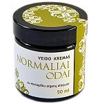Valerijonas veido kremas NORMALIAI ODAI su ekologišku arganų aliejumi 50ml