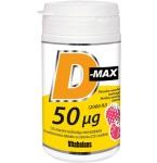 D - MAX 50mcg tabletės N90