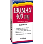 IbuMax 400mg plėvele dengtos tabletės N5
