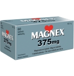 Magnex 375mg tabletės N60