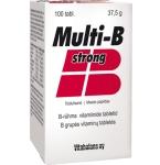 Multi - B Strong tabletės N100