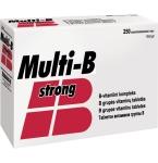 Multi - B Strong tabletės N250