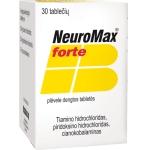NeuroMax forte plėvele dengtos tabletės N30