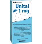 Unital melatoninas 1mg tabletės N20