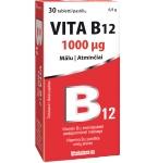 VITA B12 1mg pastilės mėtų skonio N30