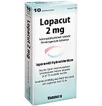 Lopacut 2mg plėvele dengtos tabletės N10
