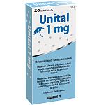 Maisto papildas Unital melatoninas 1mg tabletės N20