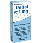 Maisto papildas Unital melatoninas 1mg tabletės N50