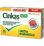Cinkas Aktiv tabletės N30